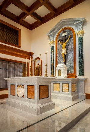 Sanctuary after the renovation