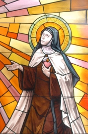 St. Teresa Margaret window in our chapel