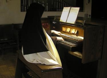 Organist at Mass