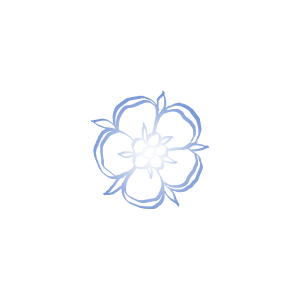 calligraphic rose alone gradient