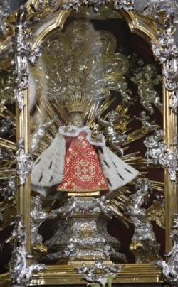 Original Infant in shrine at Prague