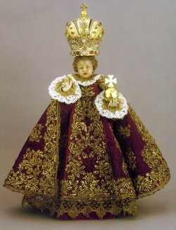 Original Infant of Prague statue