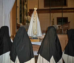 Visit of the Pilgrim Virgin of Fatima statue
